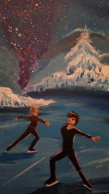 ice-skating-painiting